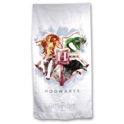 Toalla de playa Hogwarts microfibra, Harry Potter