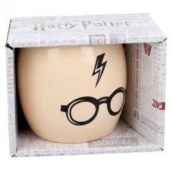 Taza Harry Potter, gafas y rayo