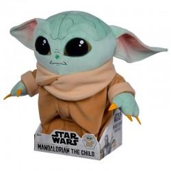 Peluche Baby Yoda articulado 33cm, The Mandalorian