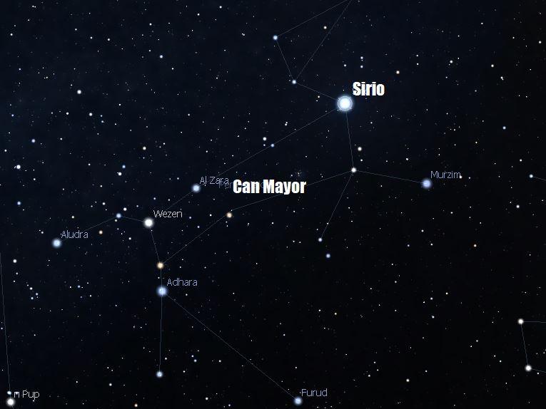 estrella sirius